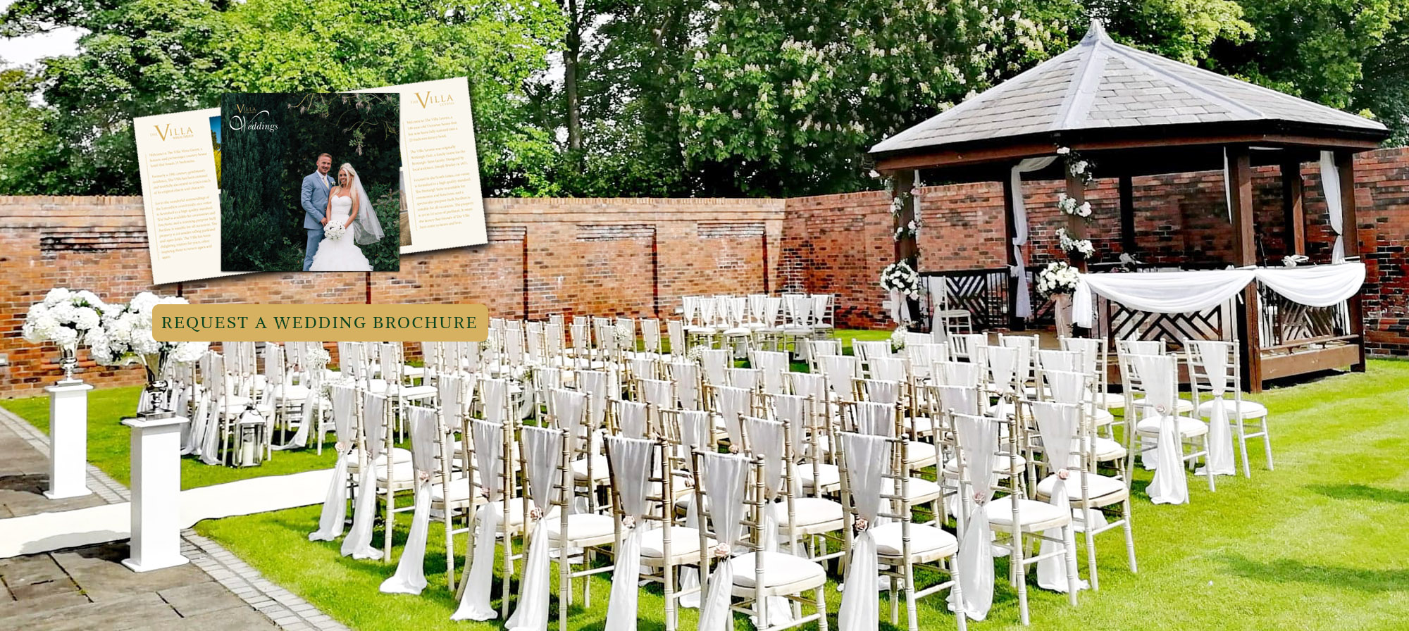 Slider Images – Deskptop View – wedding brochure
