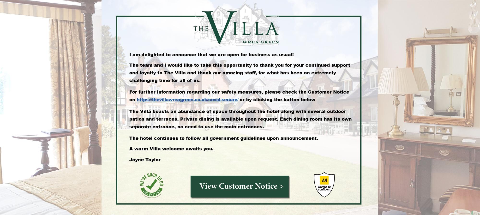 The Villa – DV new